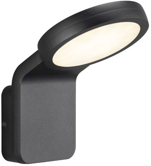 4b55187956 Nordlux marina flatline led outdoor wall light eec led a e warm white black  jpg 488x536 Flatline
