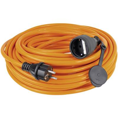 Image of as - Schwabe 59105 Current Cable extension Orange 5.00 m