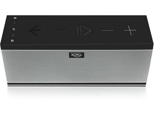Xoro HXS 910 WIFI Multiroom luidspreker AUX, Bluetooth, NFC, WiFi Handsfree-functie Zwart, Grijs