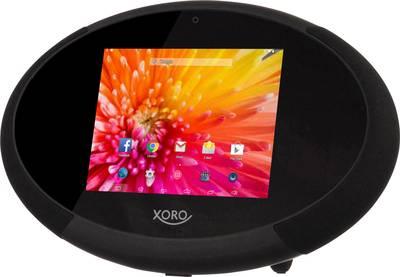 Xoro HMT 400 Internet Table top radio SD, Bluetooth Touchscreen Black