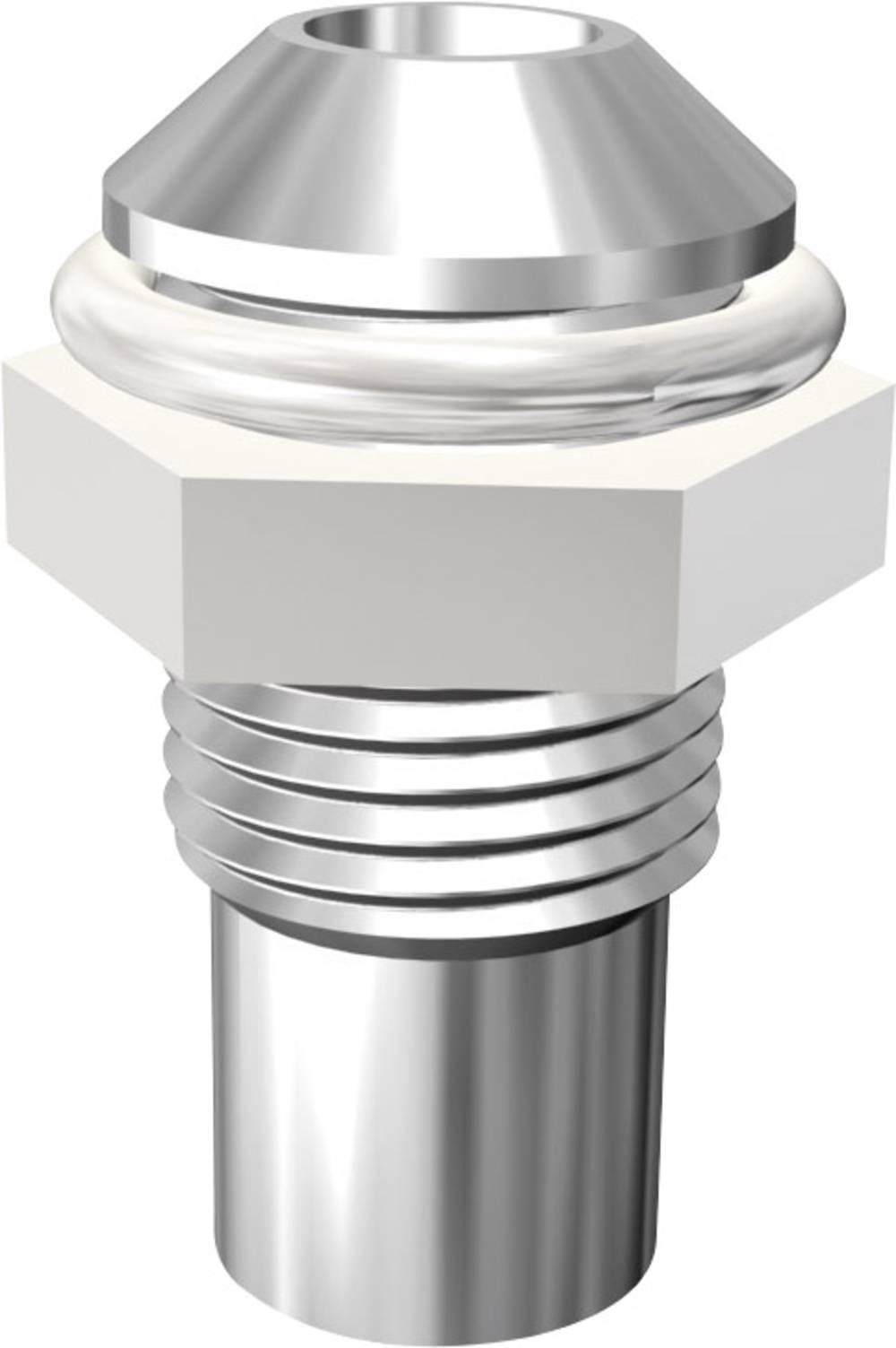 LED-fatning Metal Passer til LED 3 mm Skruefastgørelse Signal Construct SMQ1069