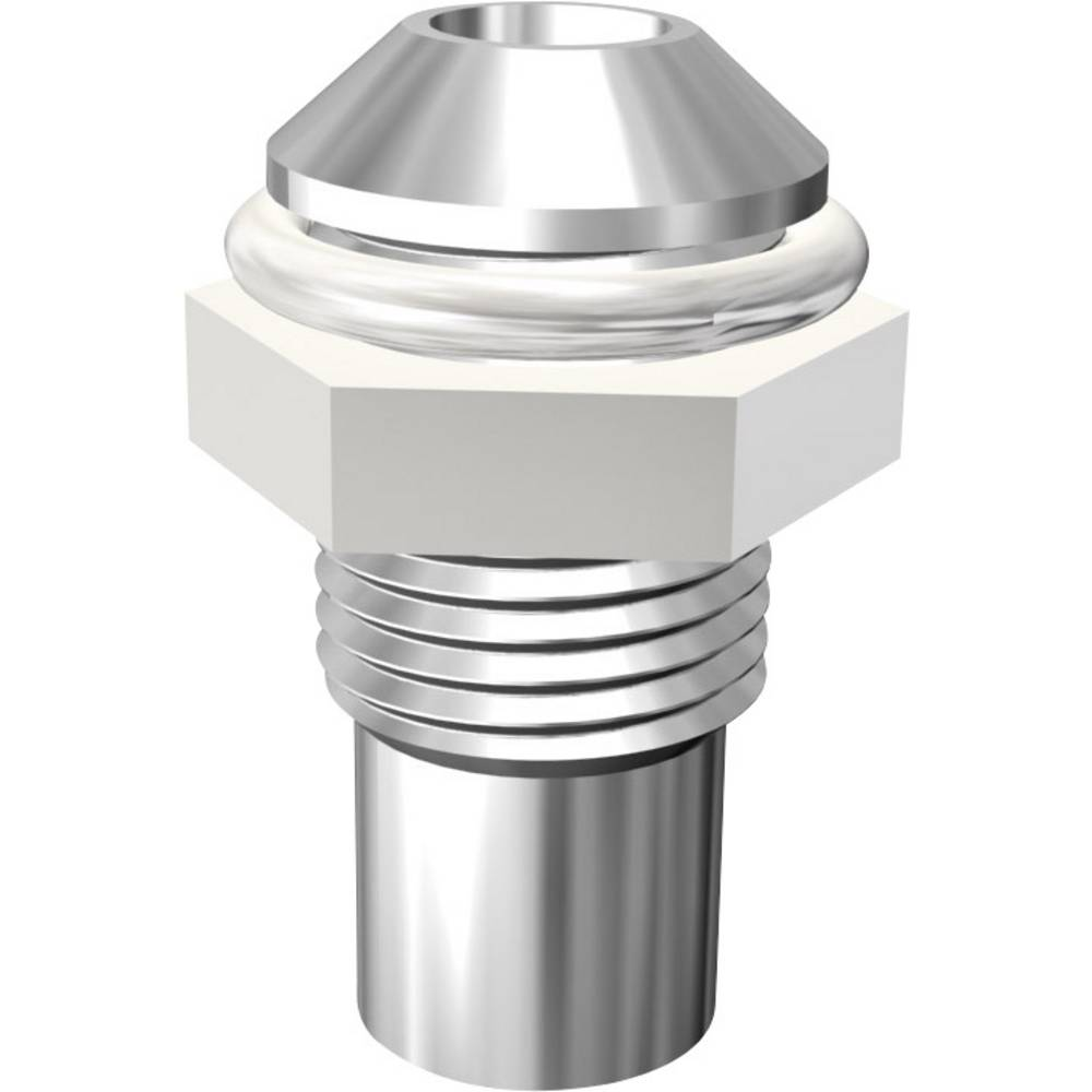 LED podnožje, metal, pogodno za LED 3 mm vijčana montaža Signal Construct SMQ1069