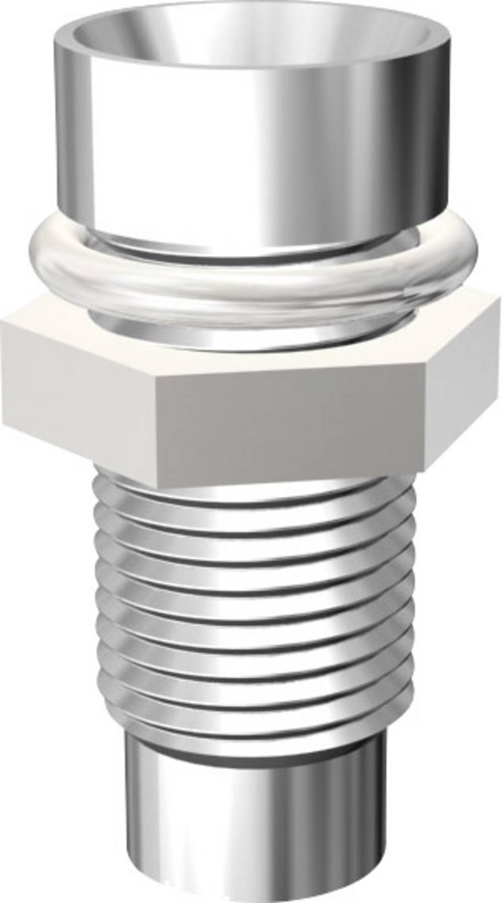 LED-fatning Metal Passer til LED 3 mm Skruefastgørelse Signal Construct SMZ1069