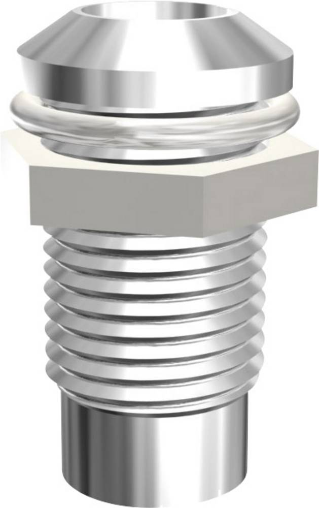 LED-fatning Metal Passer til LED 5 mm Skruefastgørelse Signal Construct SMQ1089