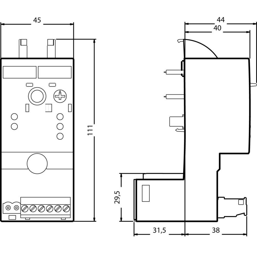 Snažan regulator 1 kom. Siemens 3RF2920-0HA13 preklopni napon (maks.): 230 V/AC (Š x V x D) 45 x 111.5 x 69.5 mm