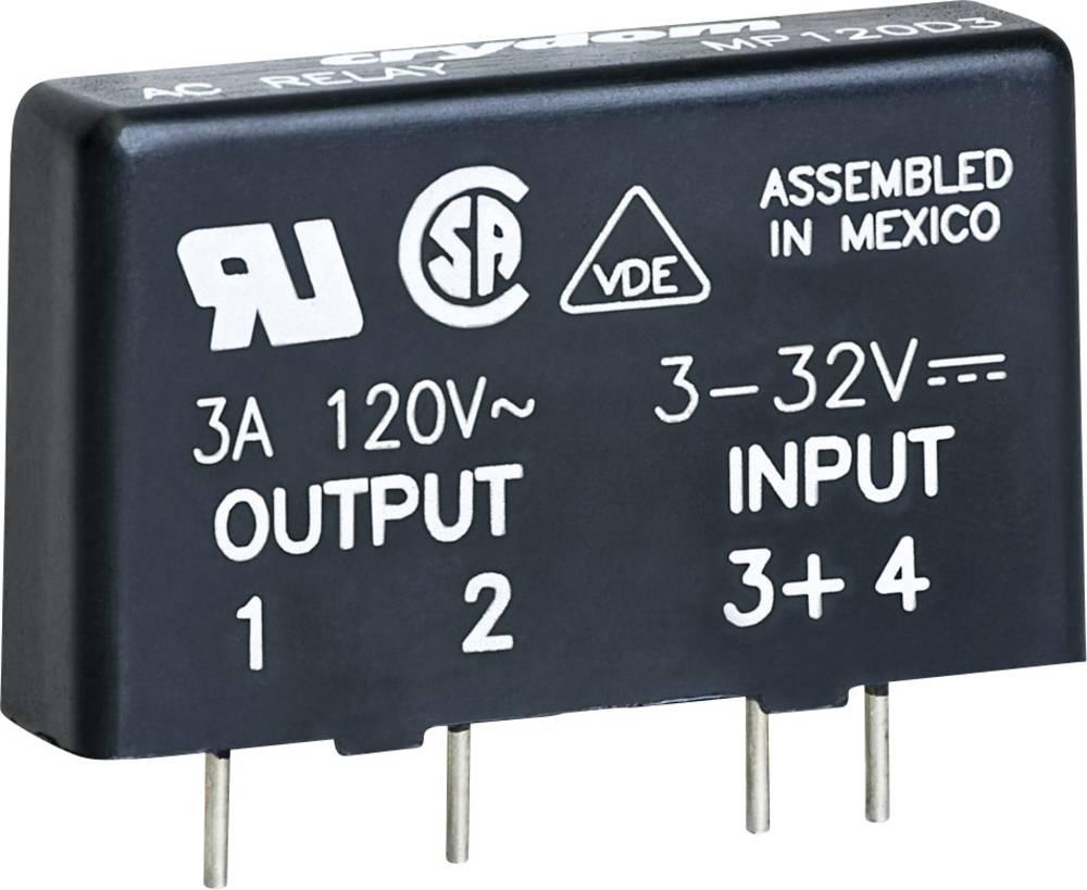Halvlederrelæ 1 stk Crydom MP240D4 Last-Strøm (maks.): 4 A Koblingsspænding (max.): 280 V/AC Vekslende ved nulspænding
