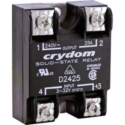 Halvlederrelæ 1 stk Crydom D2425 Last-Strøm (maks.): 25 A Koblingsspænding (max.): 280 V/AC Vekslende ved nulspænding