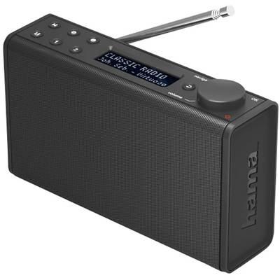 Hama DR7 Portable radio DAB+, FM Black