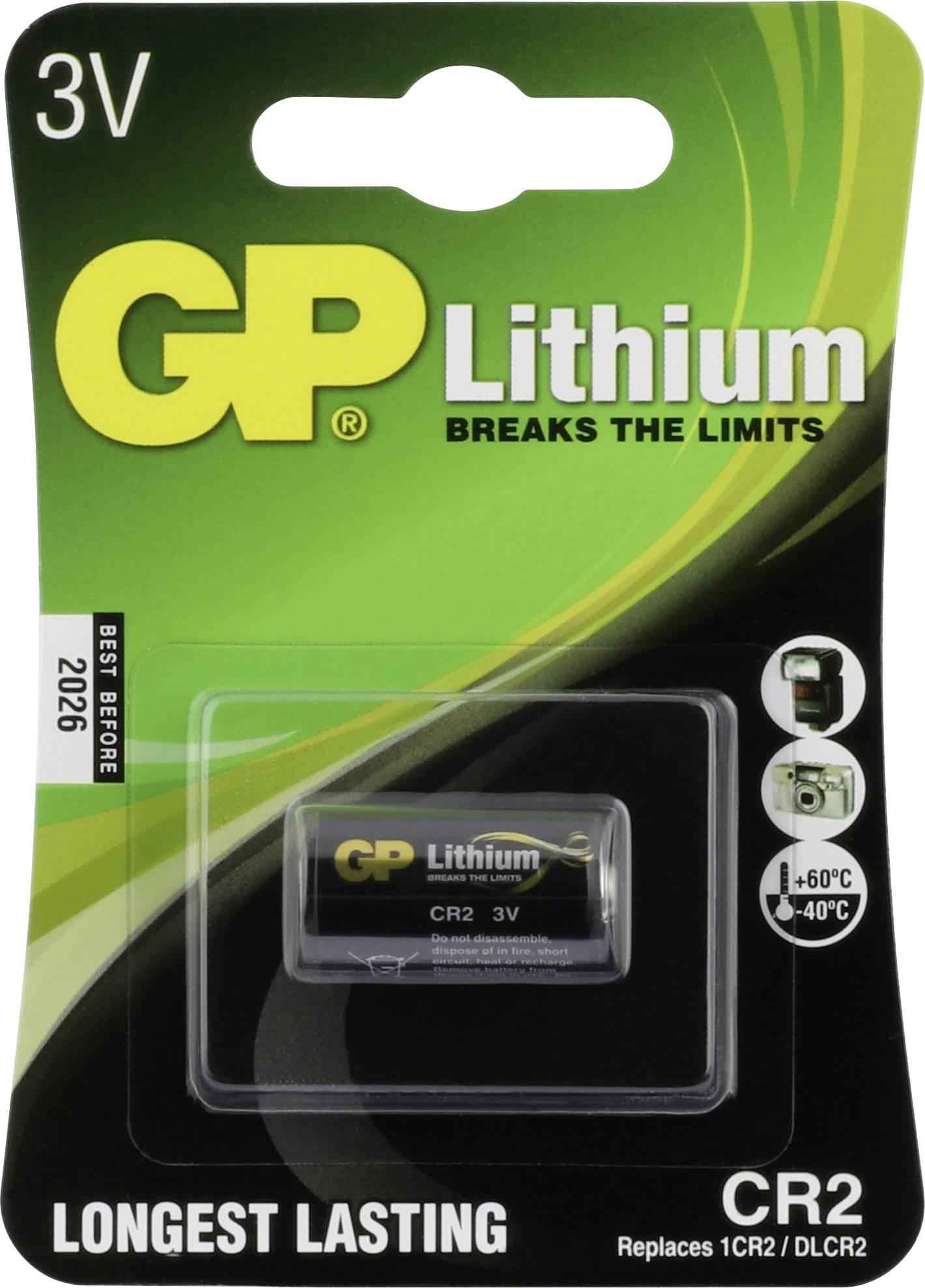 10 pcs x GP CR2 Photo Lithium Batteries 3V