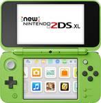 Nintendo New 2DS XL console Minecraft Creeper Edition