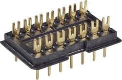 DIL-stik 1 stk DILS 14 GO Fischer Elektronik Poltal: 14 Rastermål: 2.5 mm (L x B x H) 20 x 12.5 x 7.6 mm