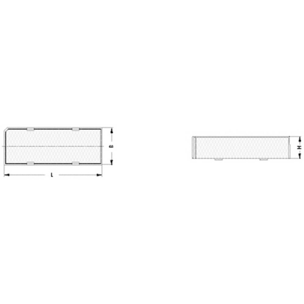 DIL pokrov za ohišje 1 kos DILS 16 GBLO Fischer Elektronik št. polov: 16 (D x Š x V) 22.6 x 12.5 x 11.7 mm