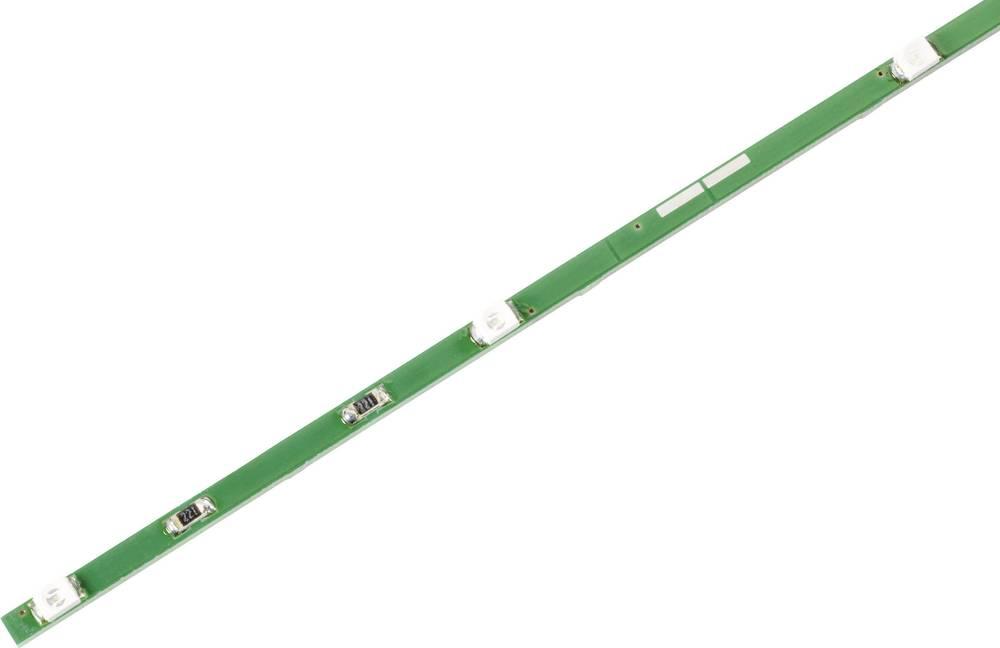 Togi LED-trak z barvnimi SMD LED, jantarjeve barve, 8 LED, 12 V/DC Conrad