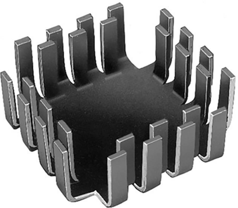 Hladilno telo 6.8 K/W (D x Š x V) 42 x 42 x 17 mm TO-3, TO-55, SOT-9, SOT-32, TO-220 Fischer Elektronik FK 223 SA-CB