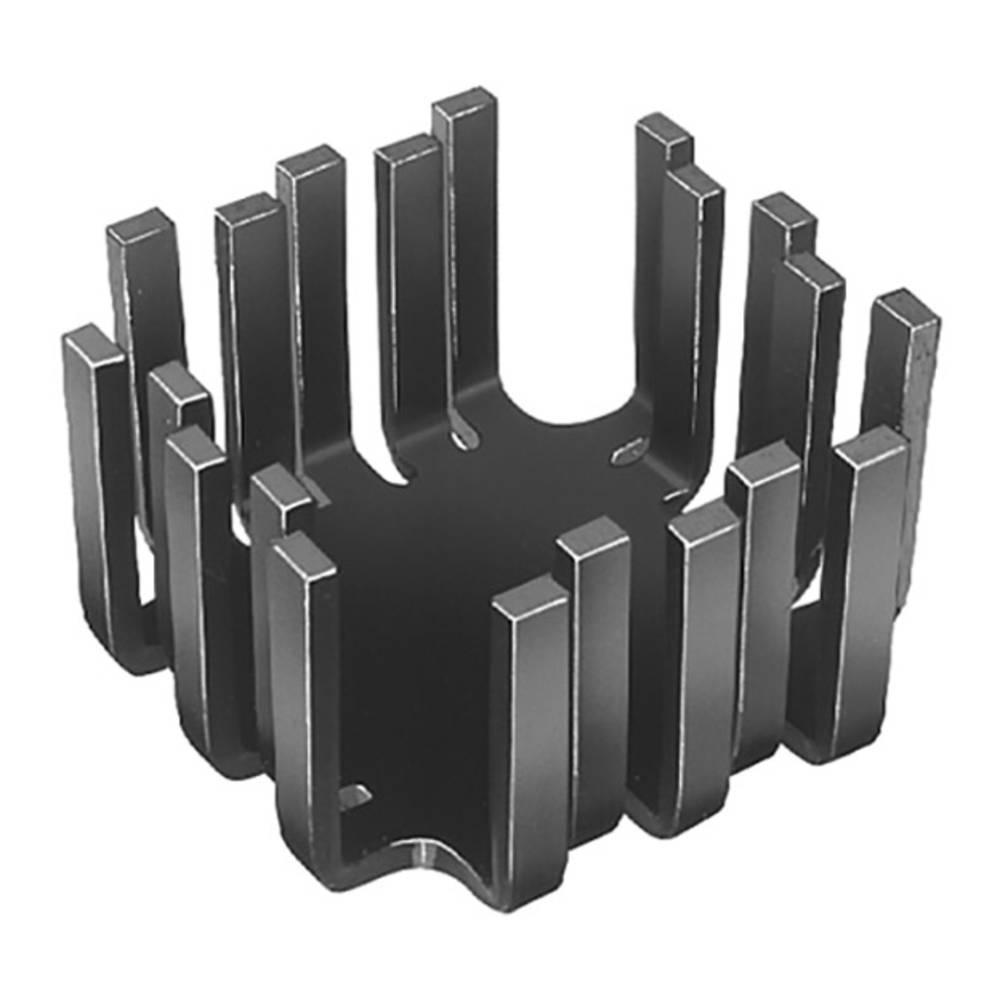 Hladilno telo 6 K/W (D x Š x V) 45 x 45 x 25.4 mm TO-3, TO-55, SOT-9, SOT-32, TO-220 Fischer Elektronik FK 201 SA-CB