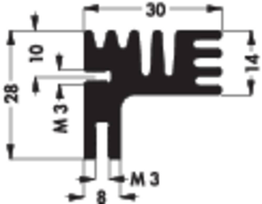 Hladilno telo 6 K/W (D x Š x V) 84 x 30 x 28 mm Fischer Elektronik SK 125 84 SA