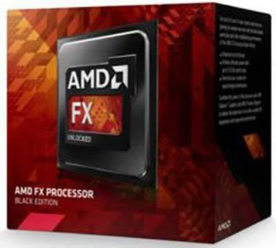 Socket AM3 AMD FX-8350 Black Edition Vishera 8-Core 4.0 GHz 4.2 GHz Turbo 125