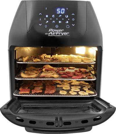 Image of MediaShop Power AirFryer Multi-Function Hot air oven 1800 W Grill function Black