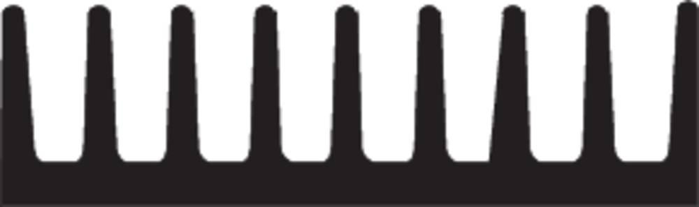 Hladilno telo 50 K/W (D x Š x V) 6.3 x 19 x 4.8 mm DIL-14, DIL-16 Fischer Elektronik ICK 14/16 B
