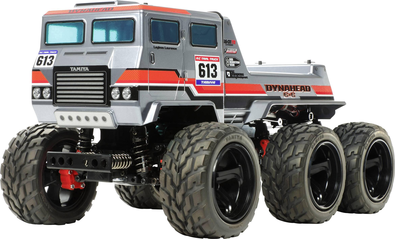 Tamiya Dynahead 6x6 Brushed 1 18 Rc Model Car Electric Monster Truck 4wd Kit Conrad Com