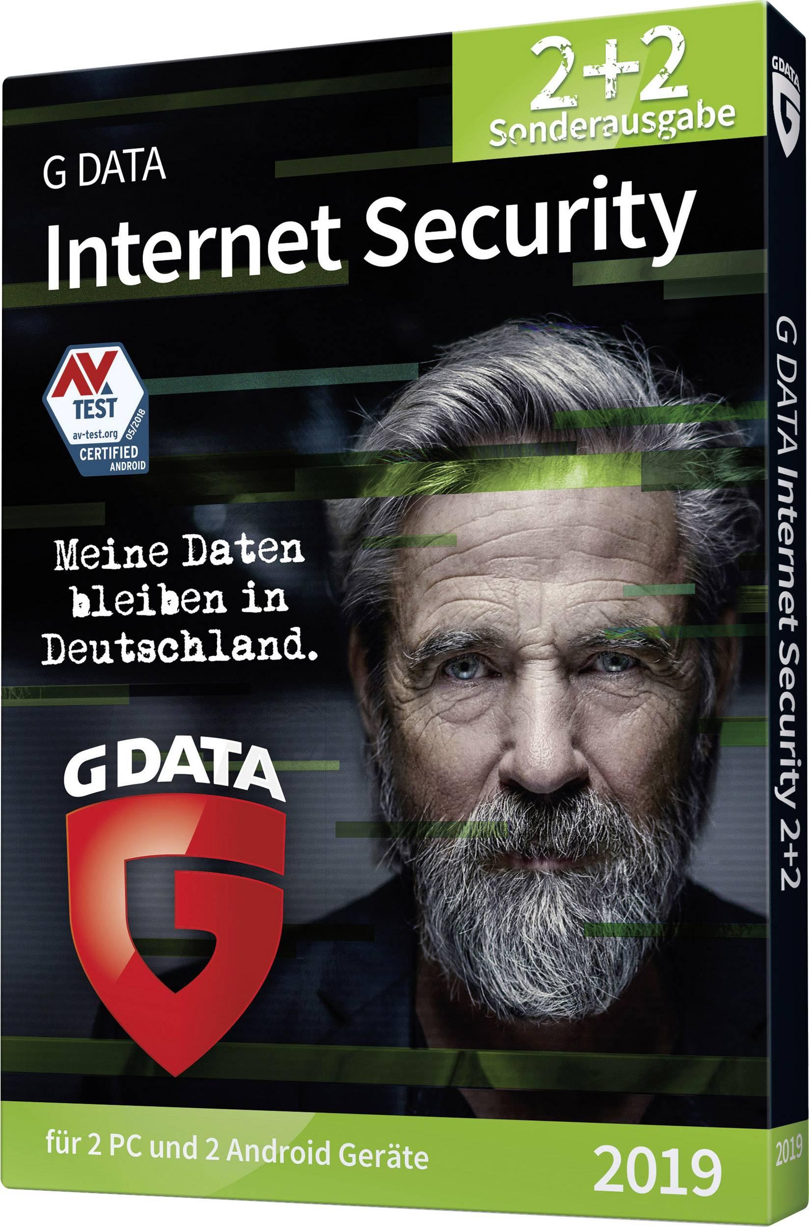 G-Data Internet Security 2019 2+2 Full version, 2 licenses Windows