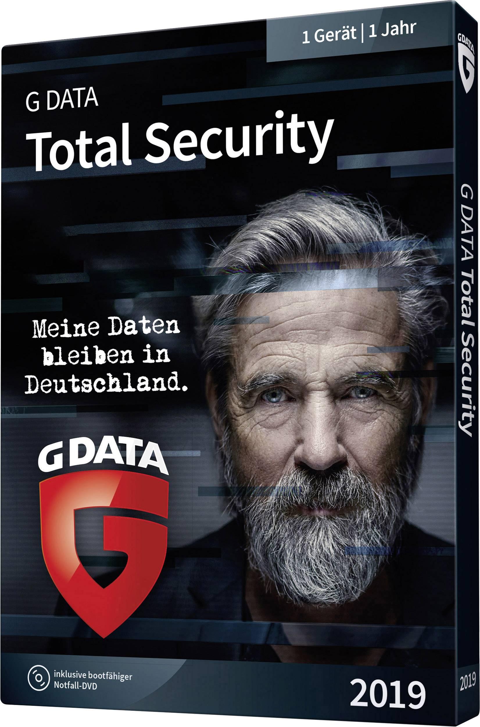 G-Data Total Security 2019 Full version, 3 licenses Windows
