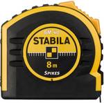 Stabila pocket tape measure BM 40, 10 m, with double-sided scale and spikes hook