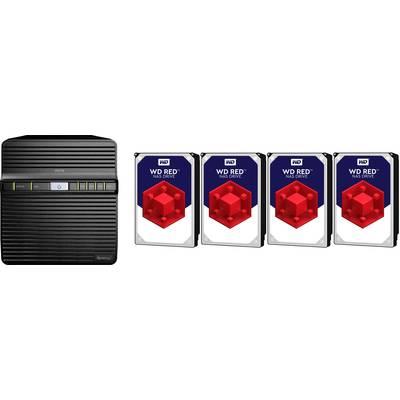 Synology DiskStation DS418J-16TB-RED NAS server 16 TB built-in Western Digital RED