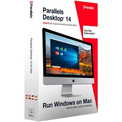 Image of Parallels Desktop 14 - 1Year Full version, 1 licence Mac OS Operating system