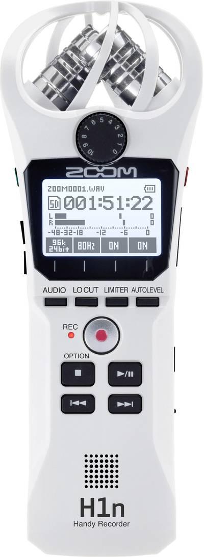 Portable audio recorder Zoom H1n White