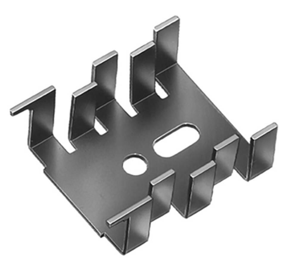 Hladilno telo 15 K/W (D x Š x V) 34 x 25.4 x 12.7 mm SOT-32, TO-220 Fischer Elektronik FK 216 MI-CB