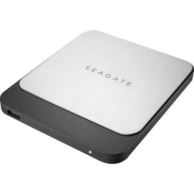 Seagate Fast External SSD hard drive 500 GB Black/silver USB-C™