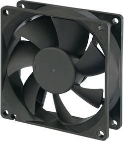 Aksial ventilator 12 V/DC 51 m³/h (L x B x H) 80 x 80 x 25 mm Conrad Components RD8025B12M