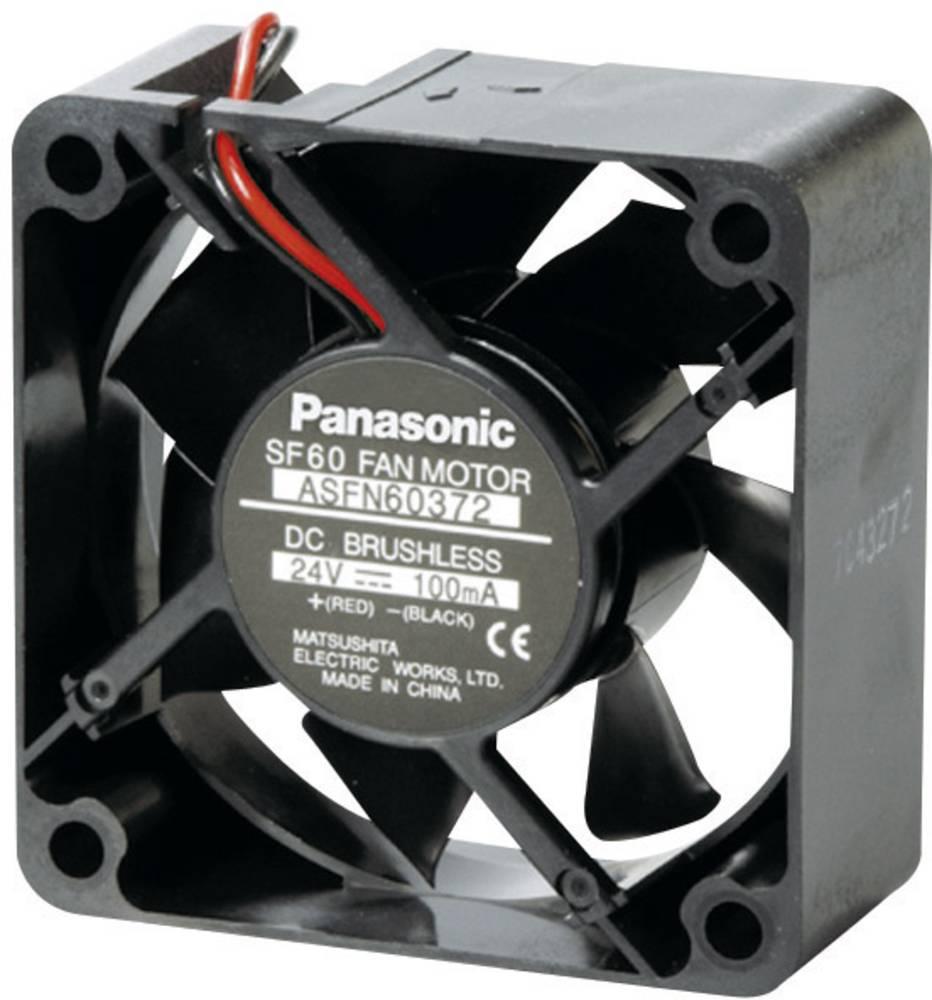 Aksial ventilator 24 V/DC 36.6 m³/h (L x B x H) 60 x 60 x 25 mm Panasonic ASFN60392