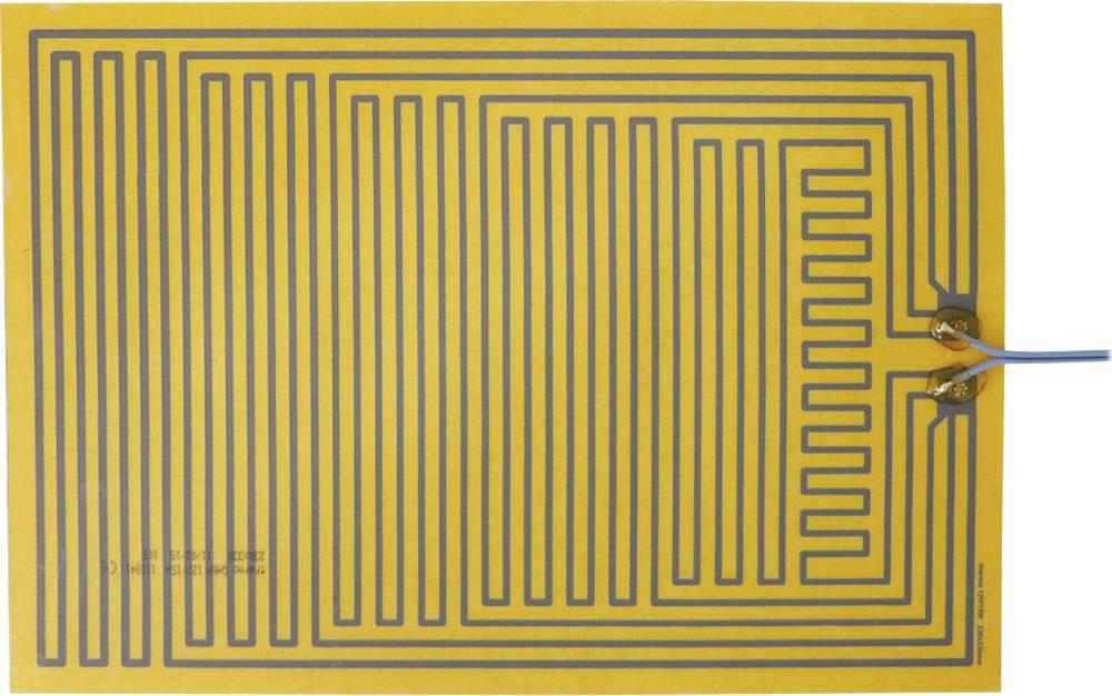 Polyester Varmefolie selvklæbende 12 V/DC, 12 V/AC 15 W Beskyttelsestype IPX4 (L x B) 330 mm x 230 mm Thermo