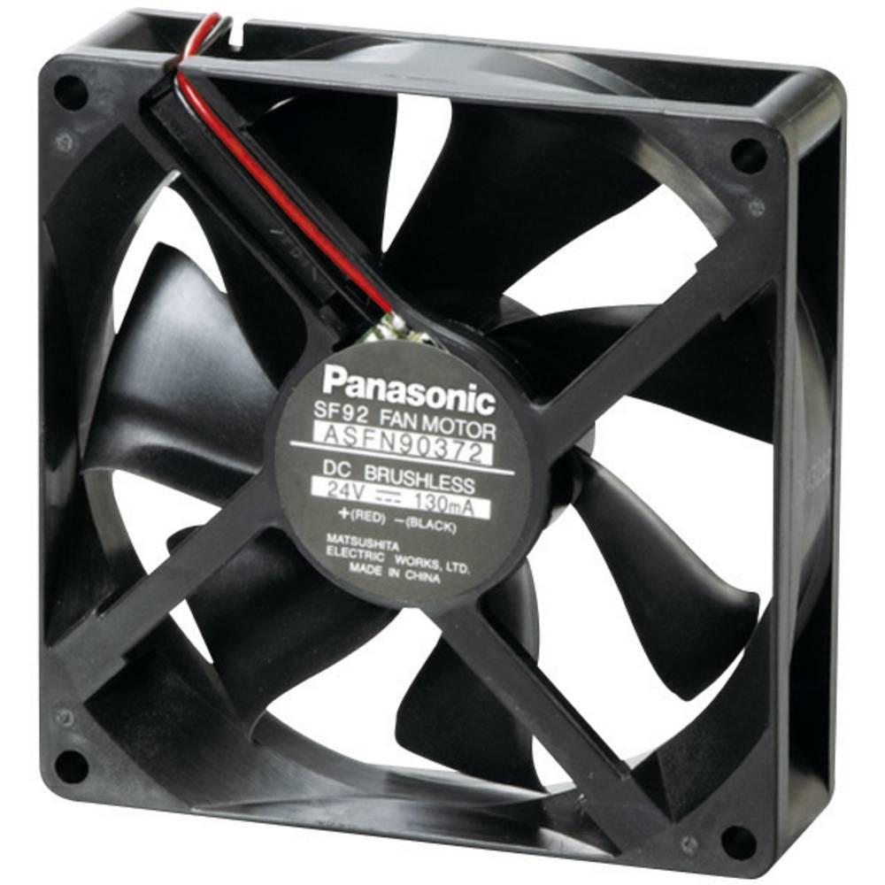 Aksial ventilator 12 V/DC 58.8 m³/h (L x B x H) 92 x 92 x 25 mm Panasonic ASFN94391