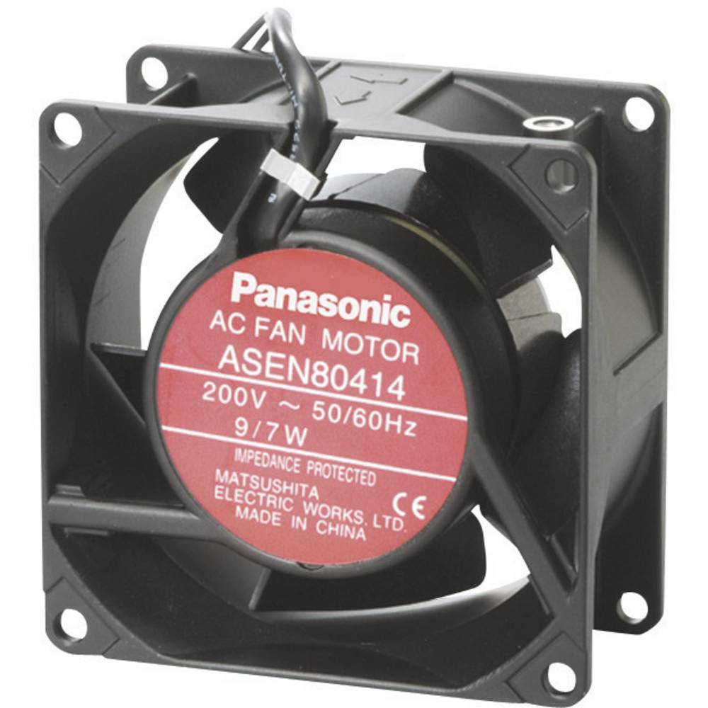 Aksialni ventilator 115 V/AC 54 m/h (D x Š x V) 80 x 80 x 38 mm Panasonic ASEN804529