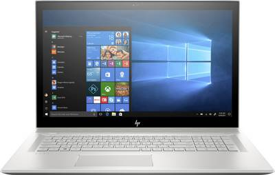 Image of HP Envy 17-bw0200ng 43.9 cm (17.3 ) Laptop Intel Core i7 16 GB 512 GB SSD Nvidia GeForce MX150 Microsoft Windows® 10 Silver