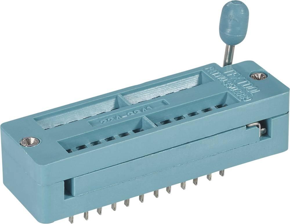 IC-testsokkel Rastermål: 7.62 mm, 15.24 mm Poltal: 24 1 stk