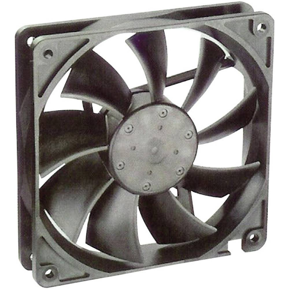 Aksial ventilator 12 V/DC 195 m³/h (L x B x H) 119 x 119 x 25 mm NMB Minebea 4710KL-04W-B50