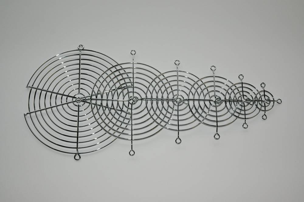 Ventilatorgitter (B x H) 50 mm x 50 mm Metal 1 stk