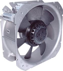 Aksial ventilator 230 V/AC 920 m³/h (L x B x H) 218 x 218 x 83 mm Ecofit 2VGC25 200V (C23-A6)
