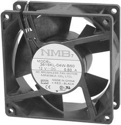 Aksial ventilator 24 V/DC 93 m³/h (L x B x H) 92 x 92 x 25 mm NMB Minebea 3610KL-05W-B50