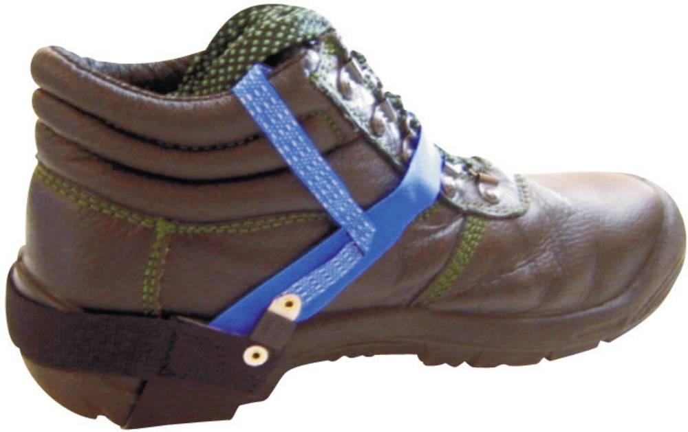 ESD trajni trak za pete na čevljih 1 kos modre barve BJZ C-204 001H