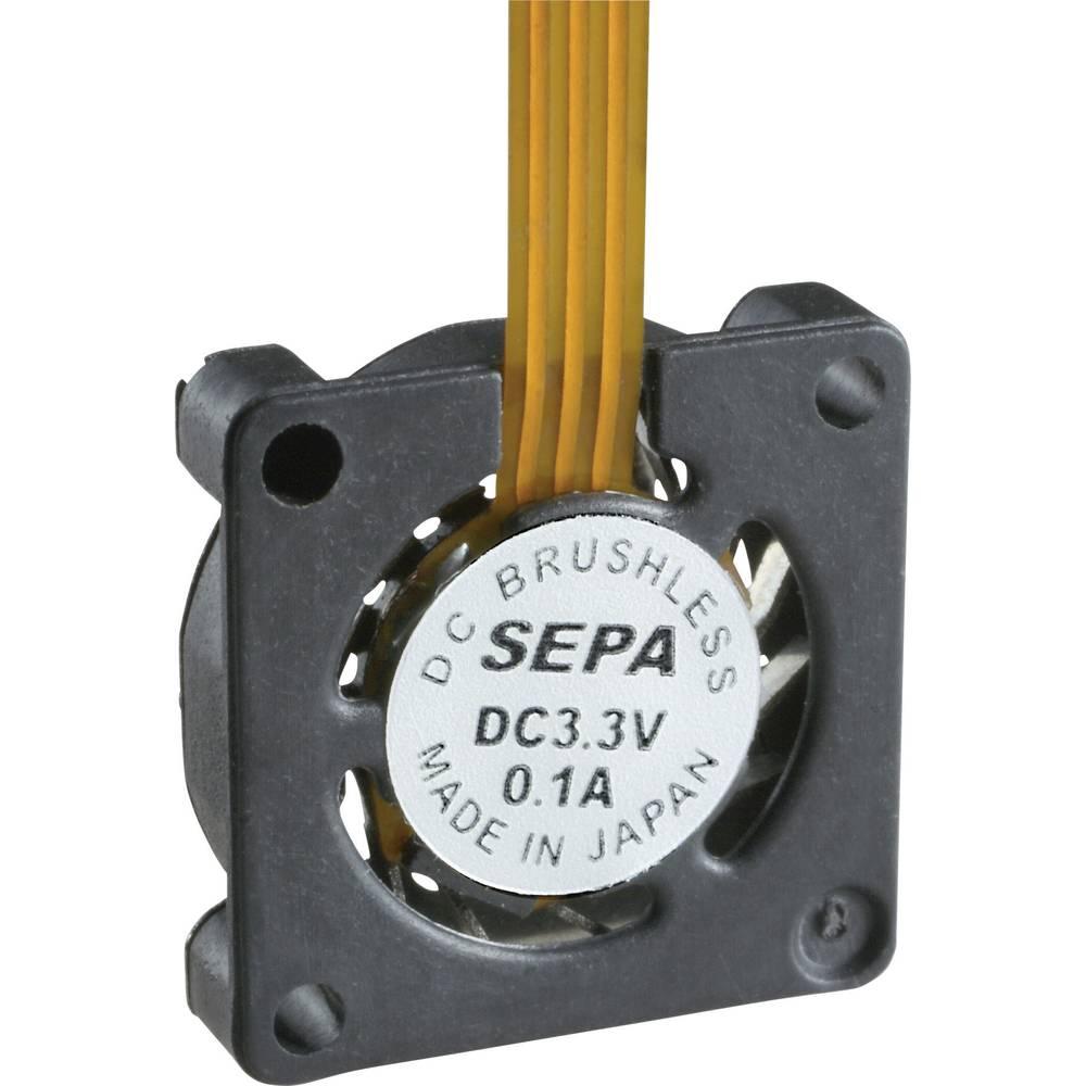 Aksialni ventilator 3.3 V/DC 0.76 l/min (D x Š x V) 10 x 10 x 2 mm SEPA HY_10A03A-ST