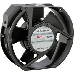 Aksial ventilator 230 V/AC 340 m³/h (L x B x H) 173 x 150 x 51 mm SEPA KA1725HA2BMT/Mg
