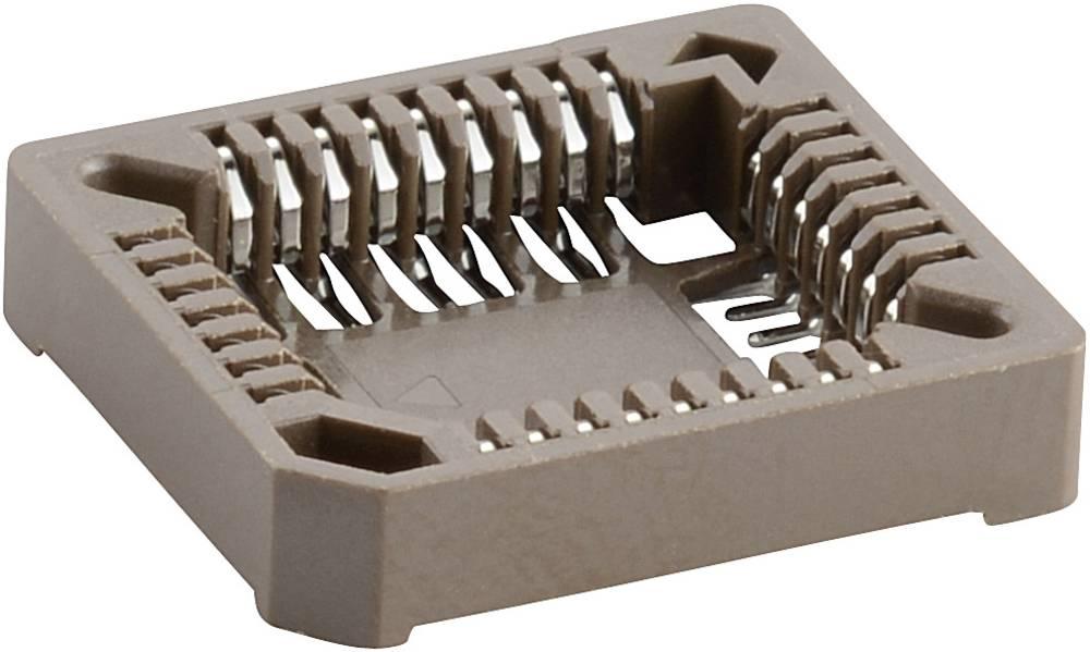 PLCC-fatning Rastermål: 1.27 mm Poltal: 44 1 stk