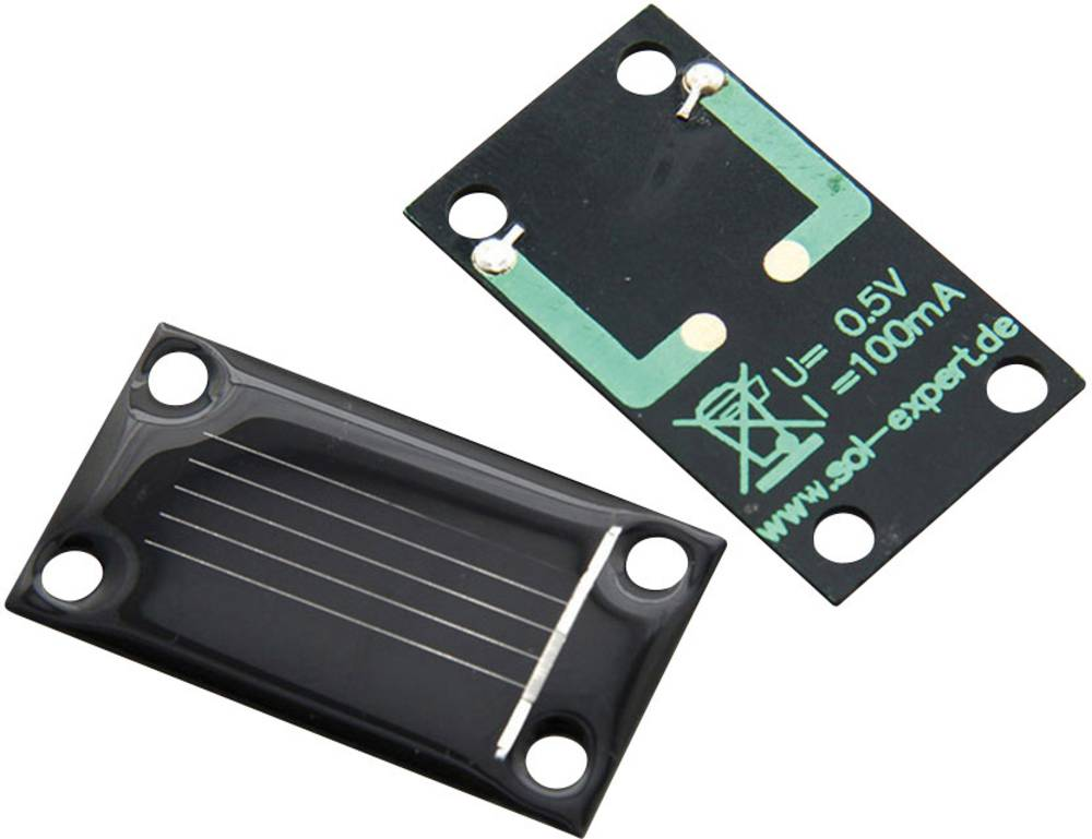 Kristalna solarna ćelija Sol Expert SM80L, lemni priključak, nazivni n.: 0,5 V, 80 mA