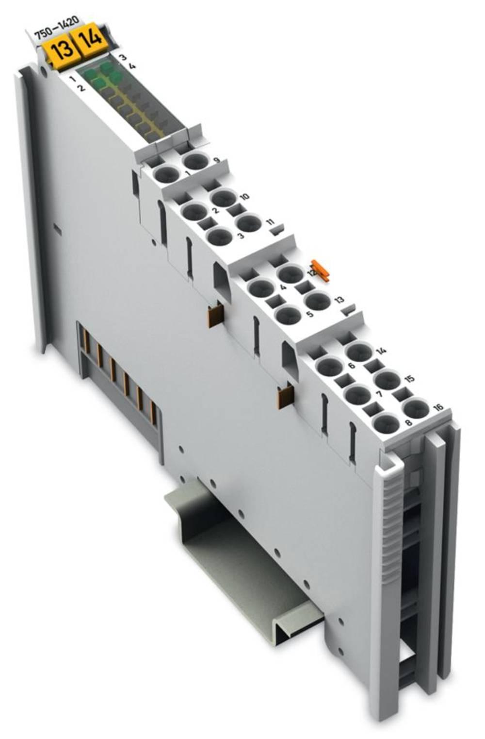 WAGO 4-kanalna-digitalna vhodna spona 750-1420 24 V/DC vsebuje: 1 kos