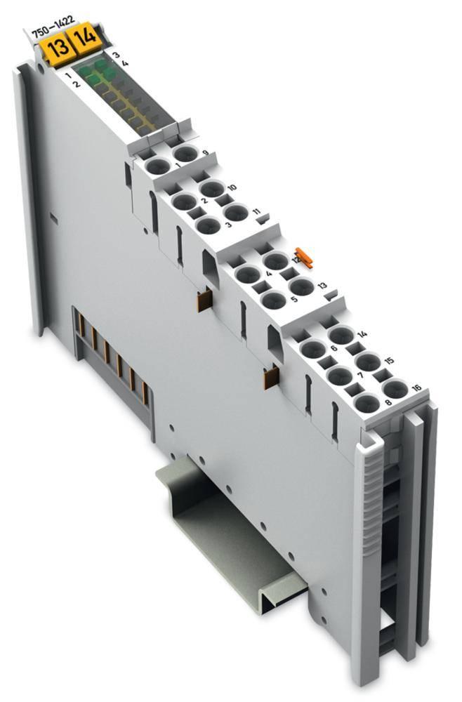 WAGO 4-kanalna-digitalna vhodna spona 750-1422 24 V/DC vsebuje: 1 kos